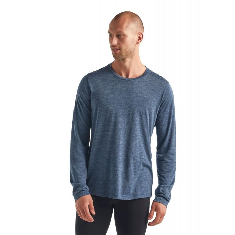 Icebreaker Sphere Long Sleeve Crewe - T-shirt homme