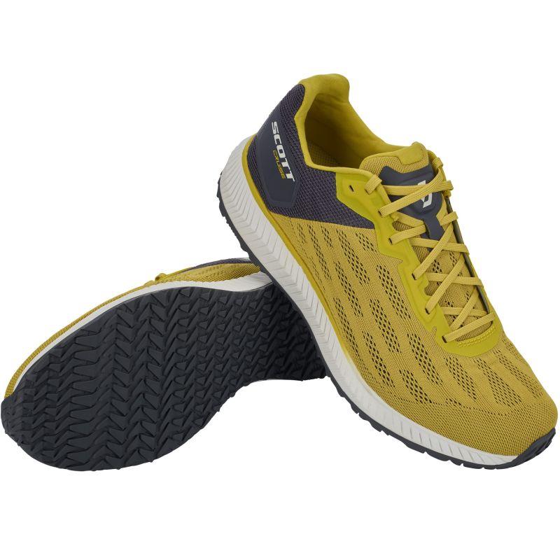 Scott Cruise - Chaussures running homme Lemongrass Yellow  Dark Grey 42