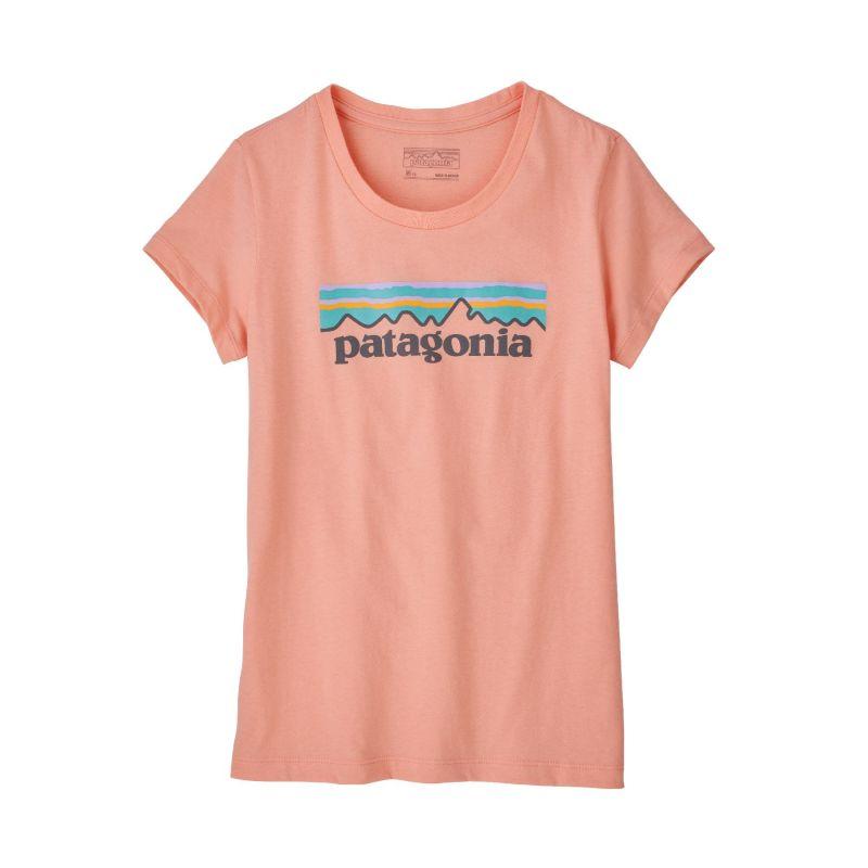 Patagonia Pastel P-6 Logo Organic T-Shirt - T-shirt fille