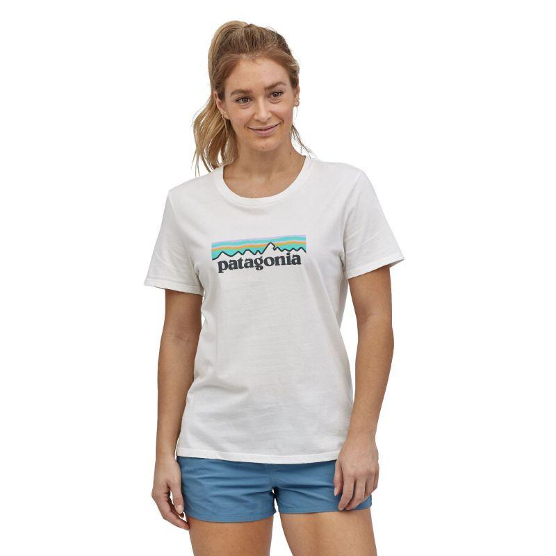 Patagonia Pastel P-6 Logo Organic Crew T-Shirt - T-shirt femme