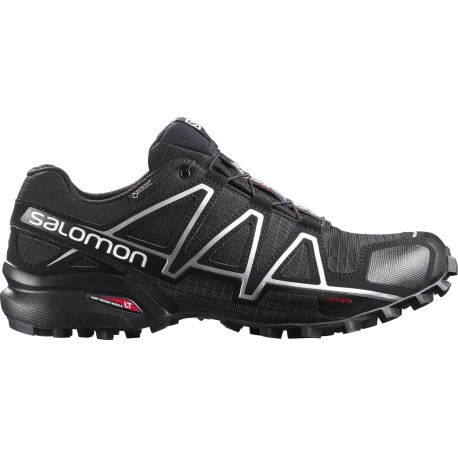 Salomon Homme Trail Running   SPEEDCROSS 4 Black Black > Bistrot Dantan
