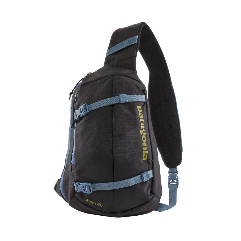 Patagonia Atom Sling 8L - Sac  bandoulire Painted Fields Black Taille unique