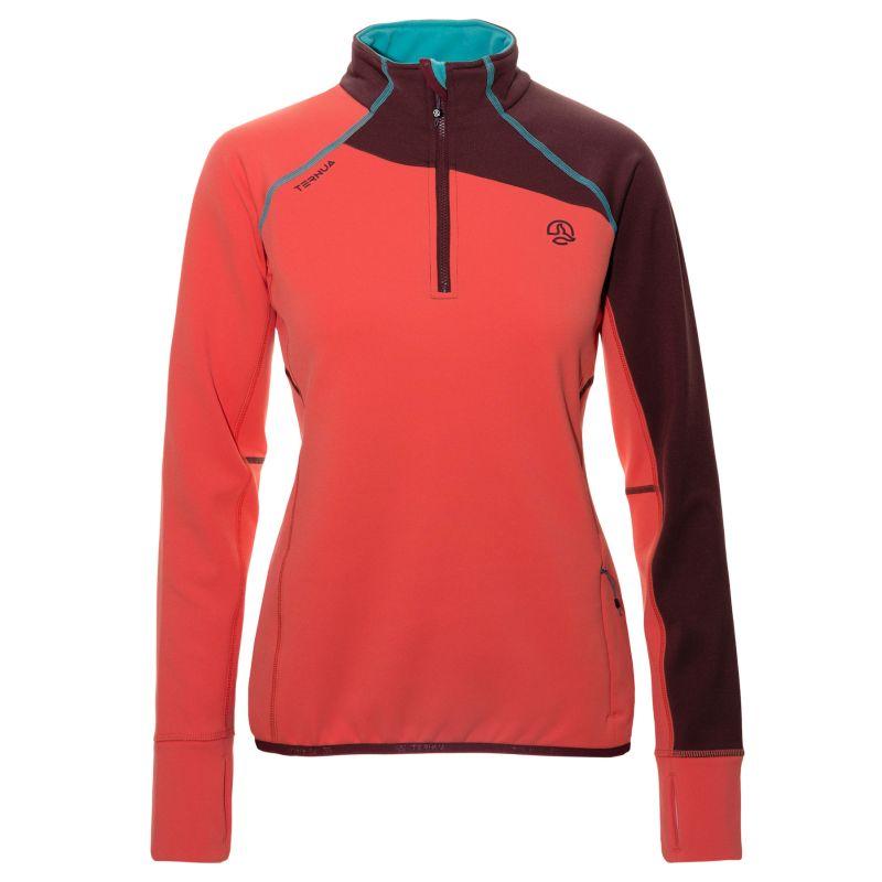 Root   Hardloop   Vêtements   équipements   Femme   Vêtements   T-shirts et  maillots femme. Ternua Adilet 1 2 Zip 2017. Chaud, pratique et élastique,  ... 0d39d06fb3fd