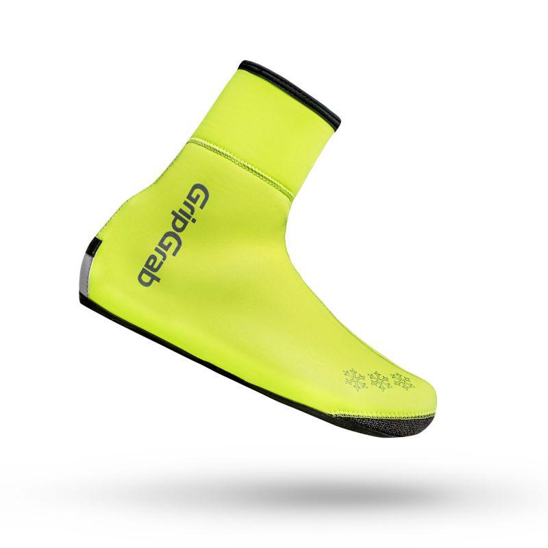 Grip Grab Arctic Waterproof Deep Winter Hi- Vis Shoe Cover - Sur-chaussures vélo