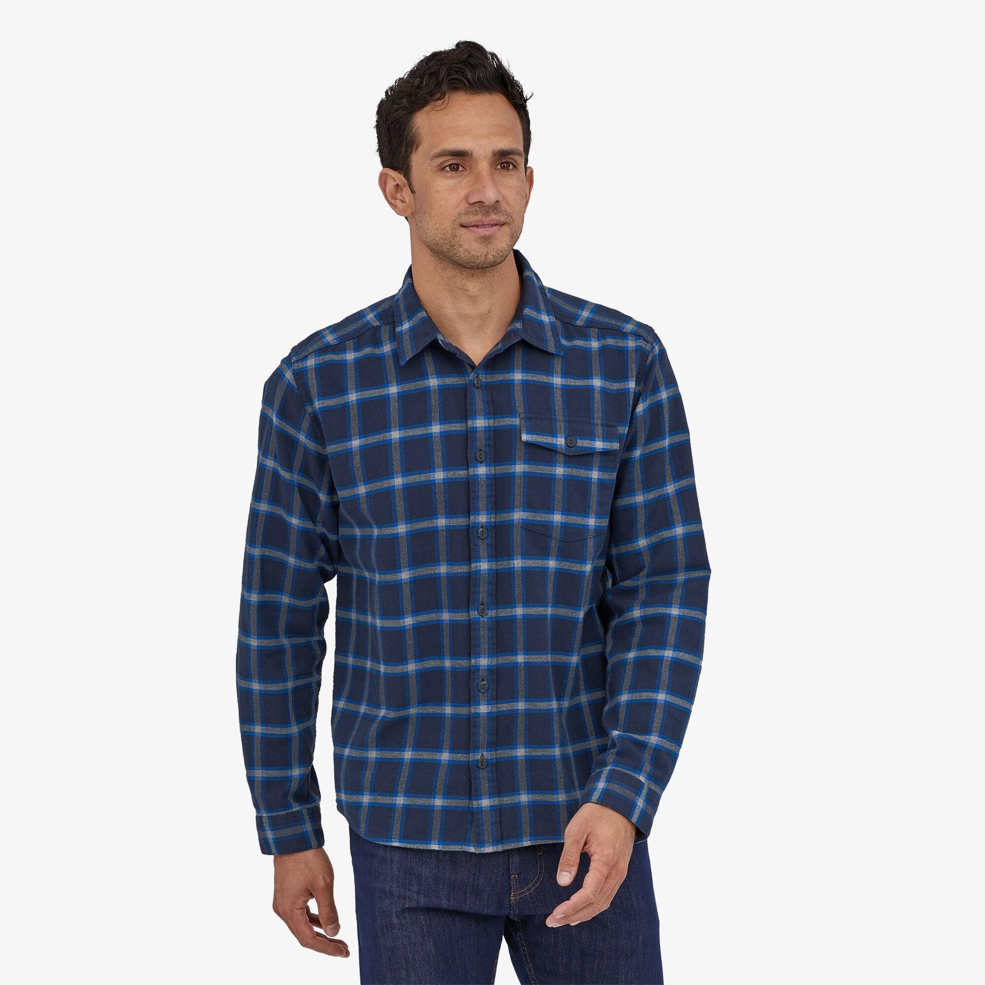 Patagonia Long-Sleeved Lightweight Fjord Flannel Shirt - Chemise homme