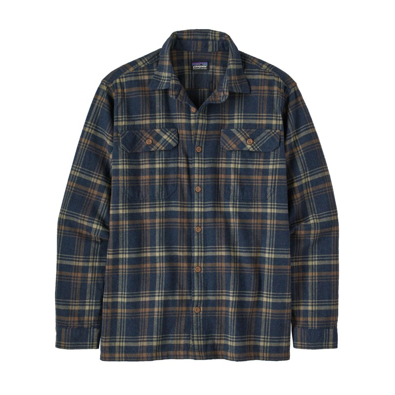 Patagonia L/S Organic Cotton MW Fjord Flannel Shirt - Chemise homme
