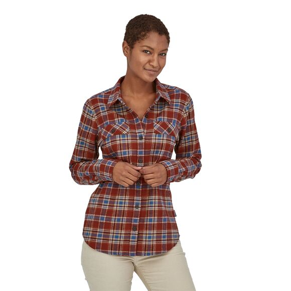 Patagonia L/S Organic Cotton MW Fjord Flannel Shirt - Chemise femme