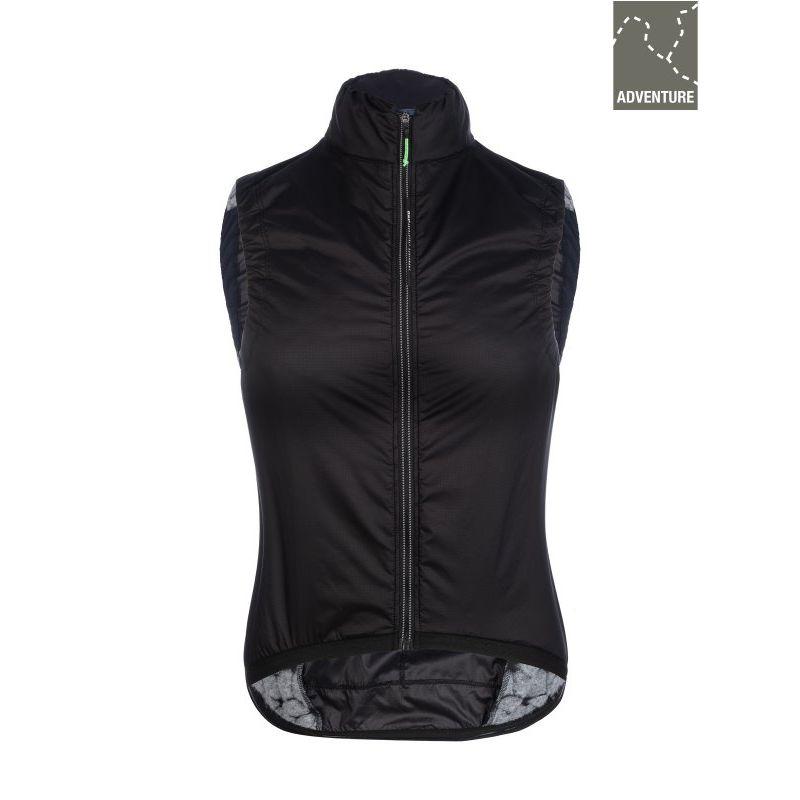 Q36.5 Adventure Women's Insulation Vest Black - Gilet vélo femme