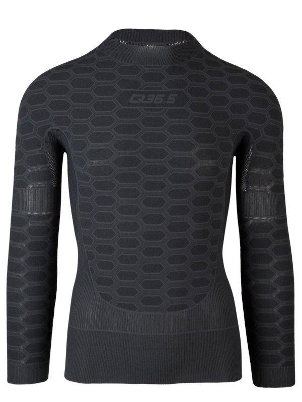 Q36.5 Base layer 3 long sleeve Antracite - Sous-vêtement technique homme