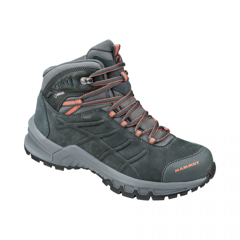 Nova Mid II Gore-Tex - Chaussures trekking femme Graphite / Dark Barberry 36.2/3 BNaavkhw
