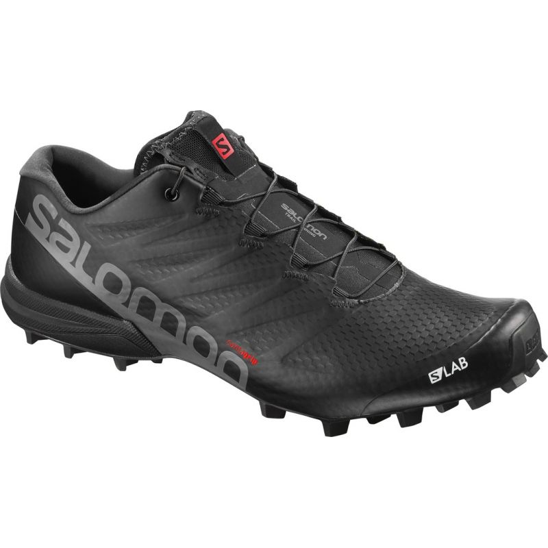 S-Lab Speed - Chaussures running homme Black / Black / Racing Red 40.2/3 ypDRN4hO