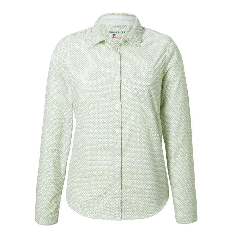 d63f3c2eeacf7 Craghoppers Nosilife Adoni Long-Sleeved Shirt - Chemise randonnée femme