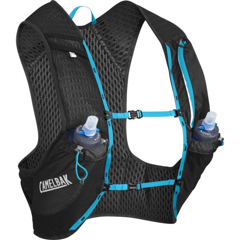Ultra Pro Vest - Sac à dos trail Black / Atomic Blue S LOPdm64K