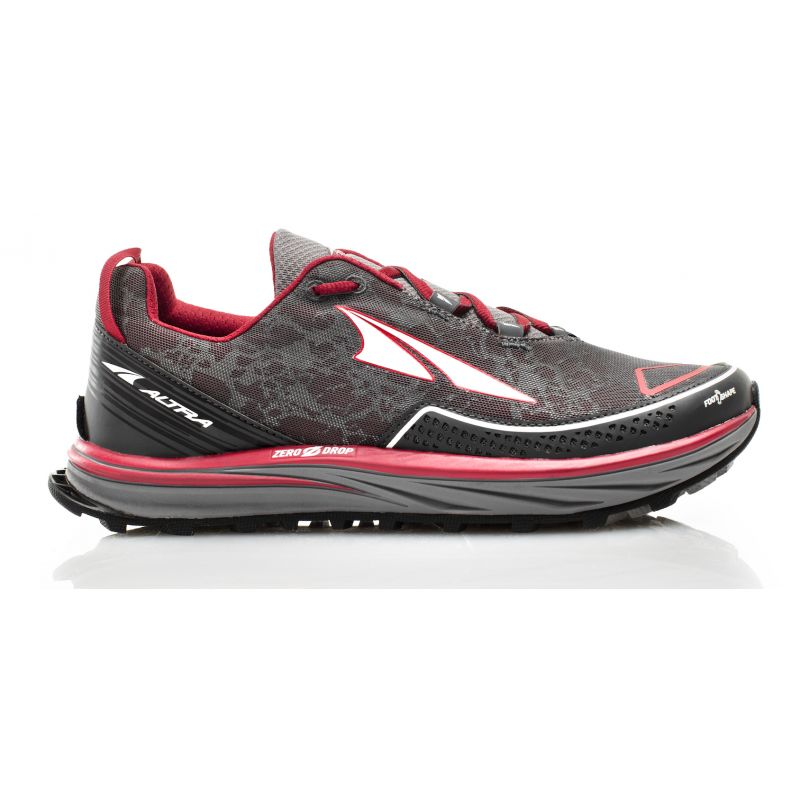 Olympus 2.5 - Chaussures trail homme Black / Red 42,5