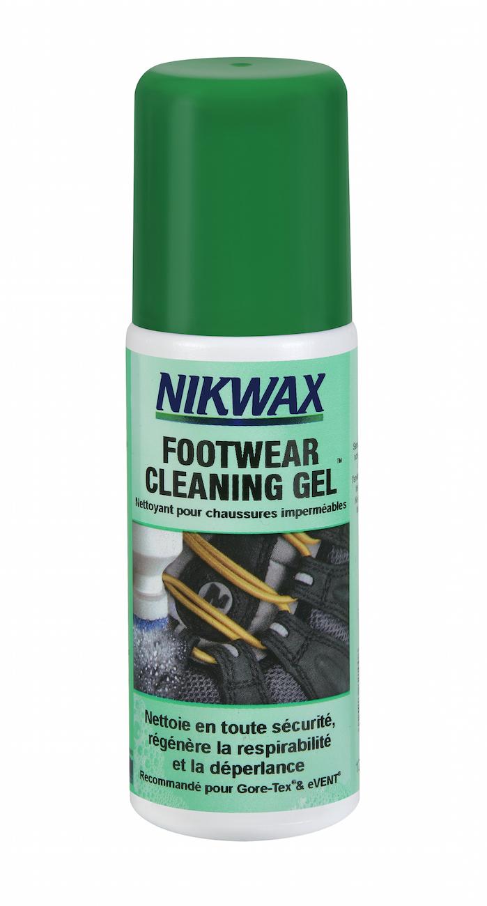 Nikwax Cleaning Gel - Gel Nettoyant pour chaussures imperméables avec applicateur éponge