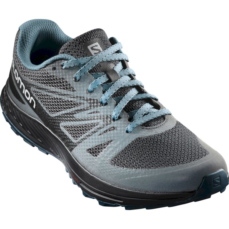 Salomon Sense Escape GTX® Nocturne Trail Running Shoe blackmallard blueblack