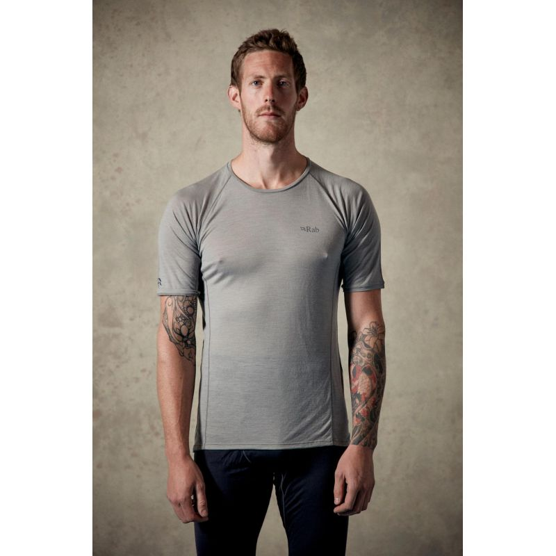 Rab Merino+ 120 SS Tee T shirt homme