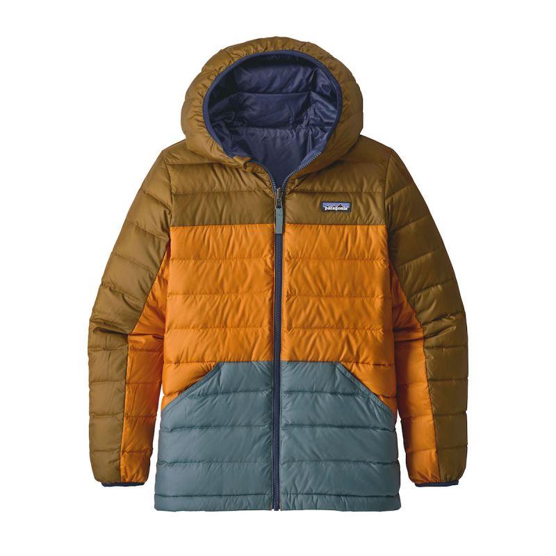 Patagonia Boys' Reversible Down Sweater Hoody Daunenjacke Junge