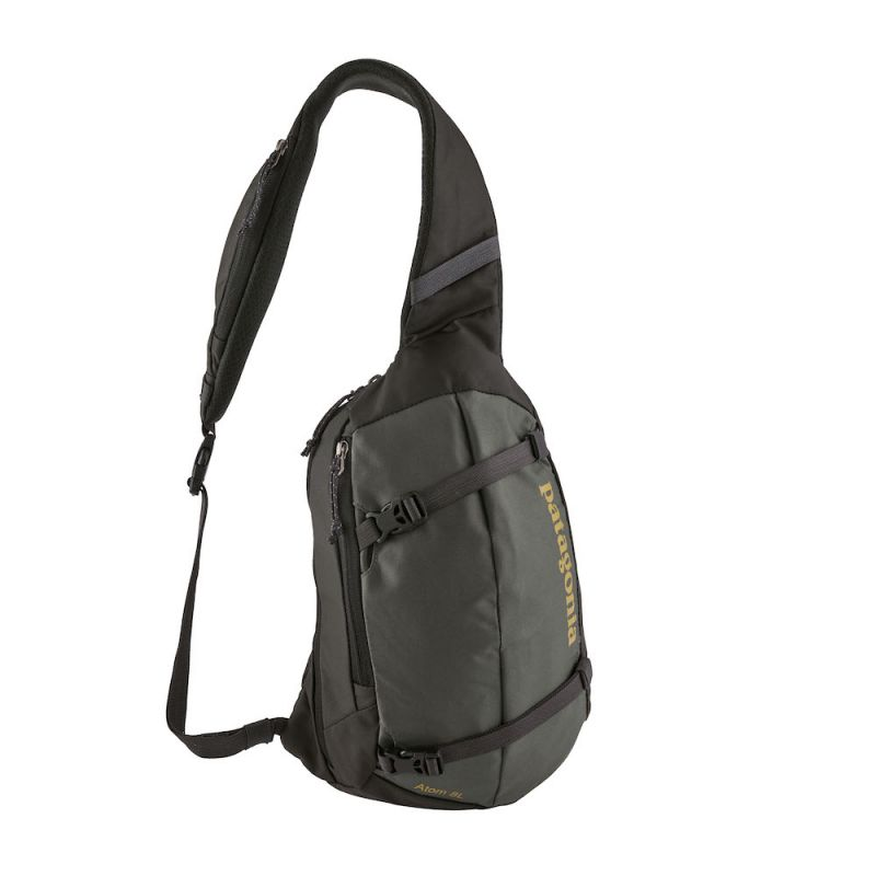 Patagonia Atom Sling 8L - Sac  bandoulire Forge Grey WTextile Green Taille unique
