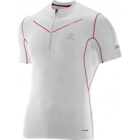 S T Half Zip Lab Homme Salomon Exo Shirt cqRjL435SA