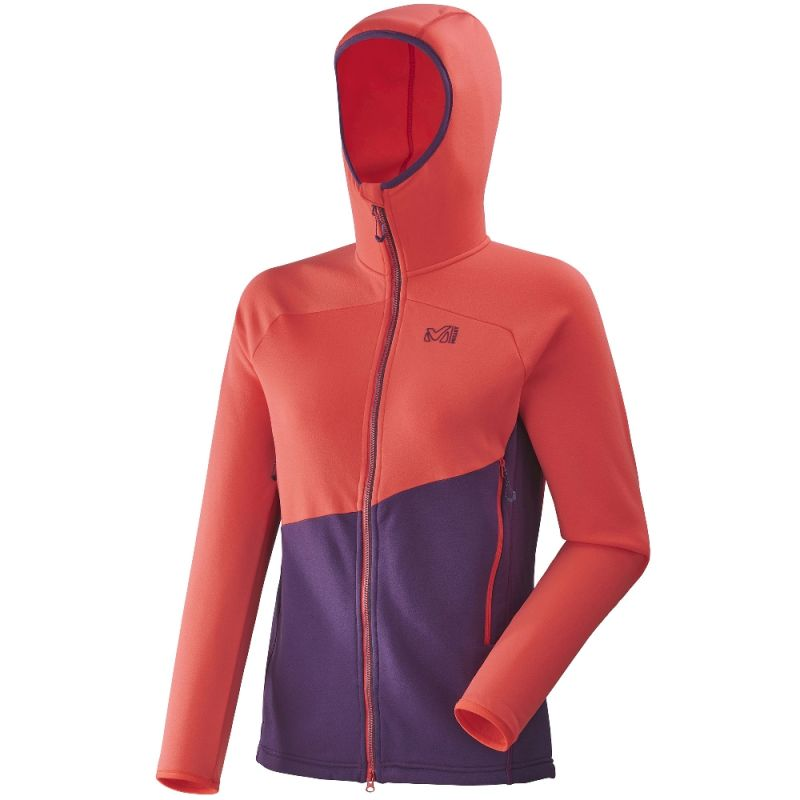 Hoodie Millet Power Elevation Ld Femme Polaire n8w0mN