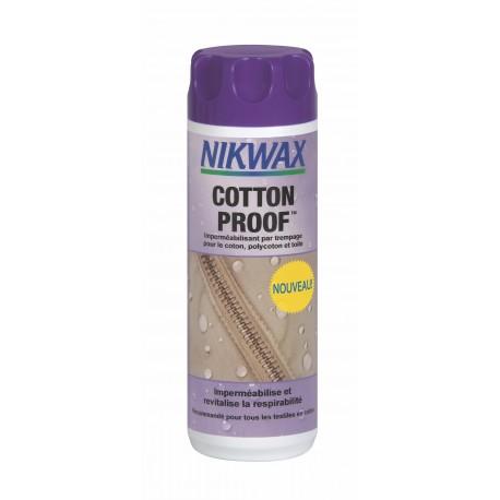 Nikwax Cotton Proof - Traitement déperlant durable pour les articles en coton