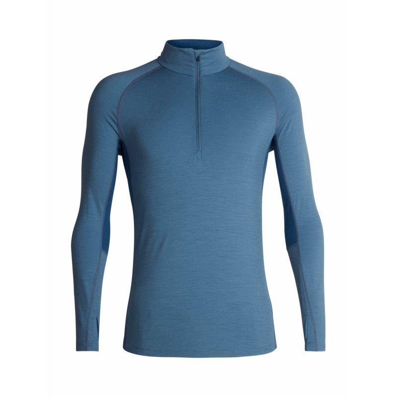 Maillot Homme Icebreaker Bodyfitzone 260 Zone Long Sleeve Half Zip Hood