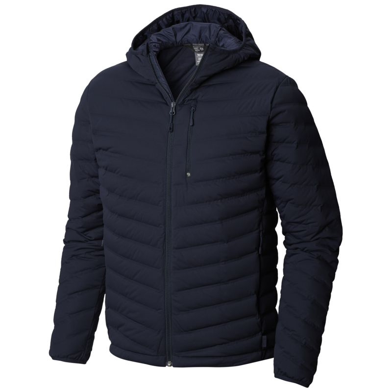 new style 44c5f 80075 StretchDown™ Hooded Jacket - Daunenjacke - Herren