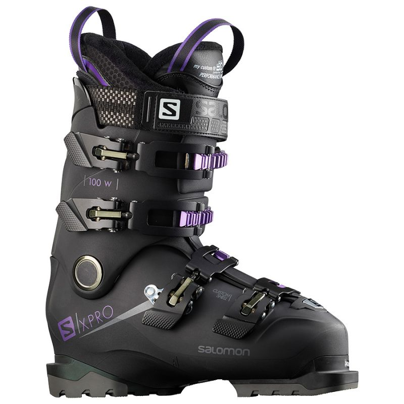 100 Femme Mountain All Salomon Chaussures Ski X Pro W 4Lq3ARjc5