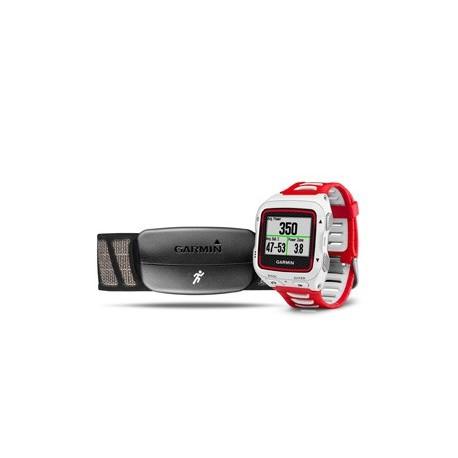 c0a00a669c3fa7 Garmin Forerunner 920 XT rouge et blanche avec cardio-fréquencemètre - Montre  triathlon