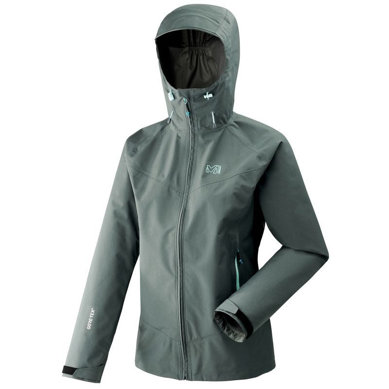 Mujer Millet LD Elevation GTX Active J Chaqueta Impermeable