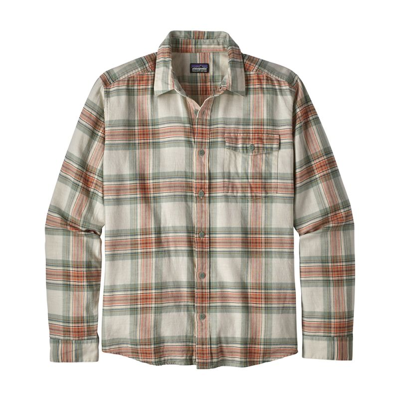 65c30330a24 Patagonia Long-Sleeved Lightweight Fjord Flannel Shirt - Chemise homme