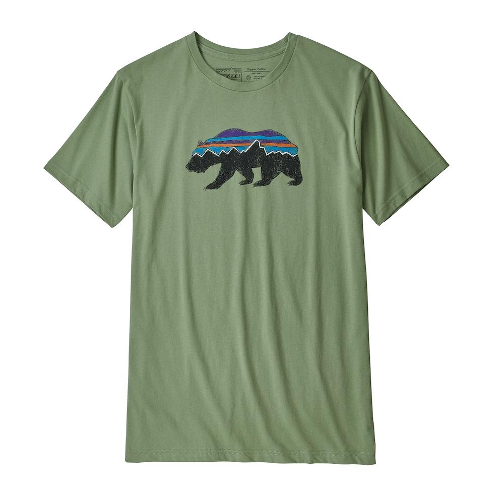 Patagonia Fitz Roy Bear Organic T-Shirt - T-shirt homme