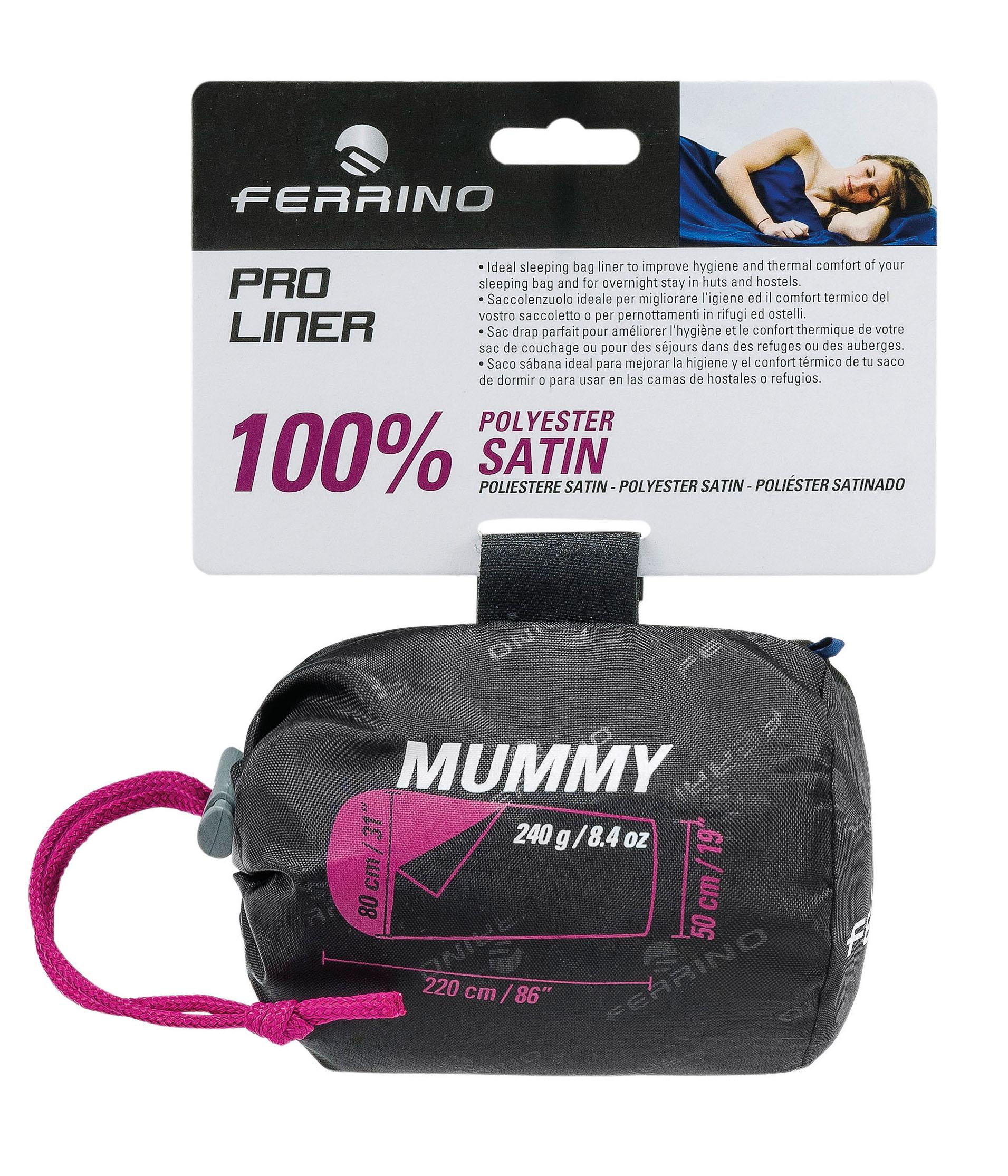 Ferrino Pro Liner Mummy - Drap de sac de couchage