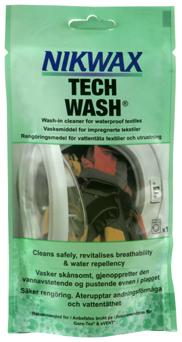 Nikwax Tech Wash 100 ml - Lessive pour tissus imperméables