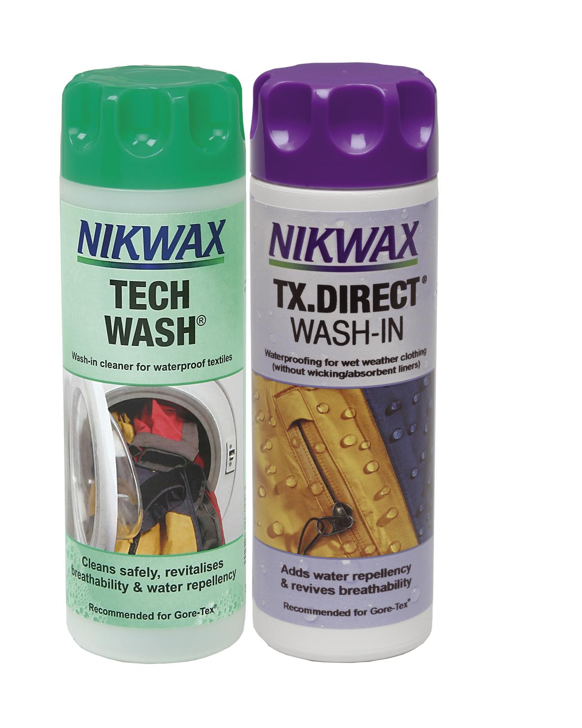 Nikwax Twin Pack - Lessive Tech Wash et imperméabilisant TX. Direct