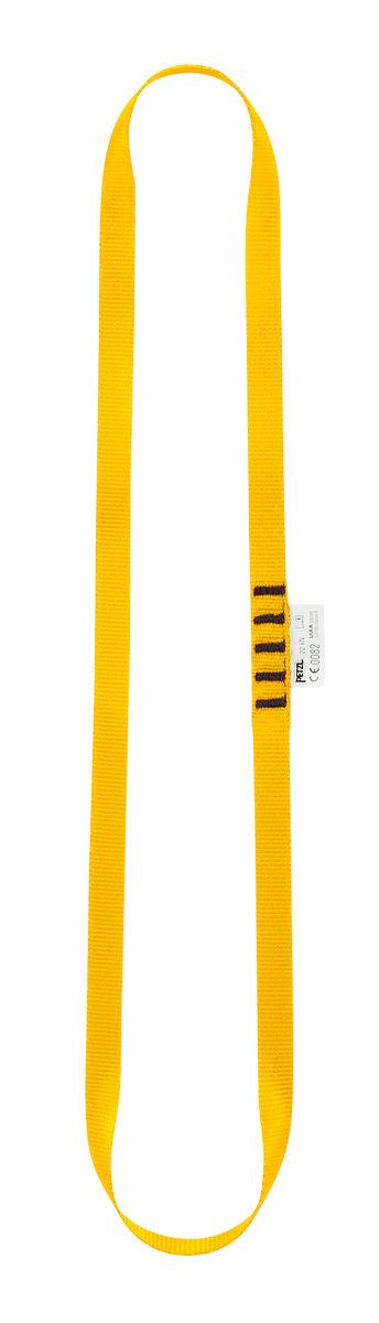 Petzl Anneau - jaune 60 cm