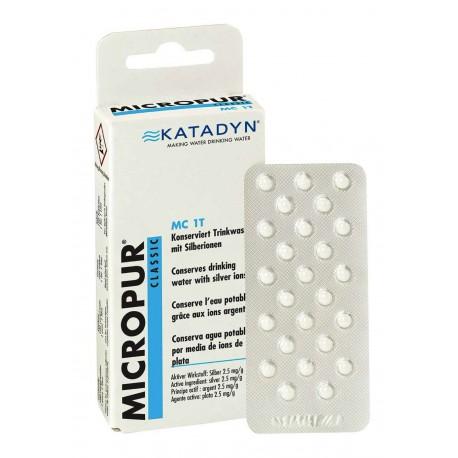 Katadyn Comprimés Micropur Classic MC 1T - 100 comprimés