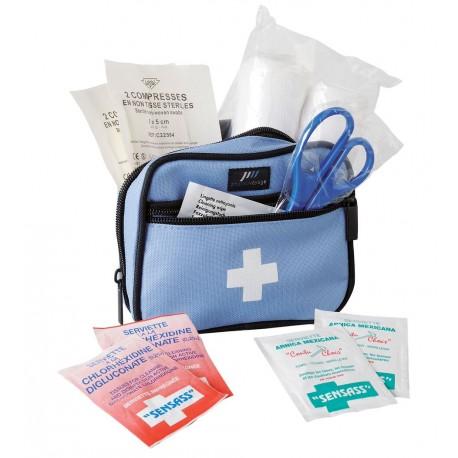 Pharmavoyage Mini trousse de secours équipée - 12 produits de soins intégrés