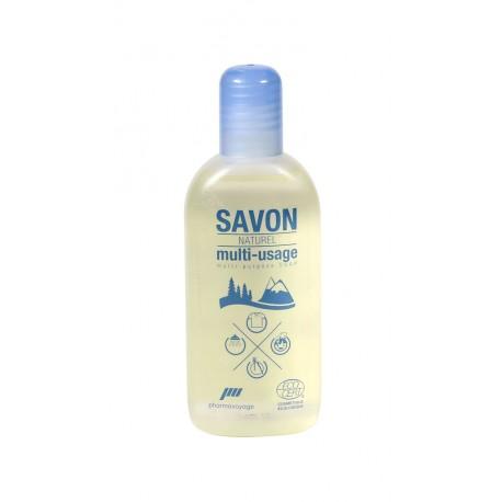 Pharmavoyage Savon Bio Multi-usage (douche, linge, vaisselle)
