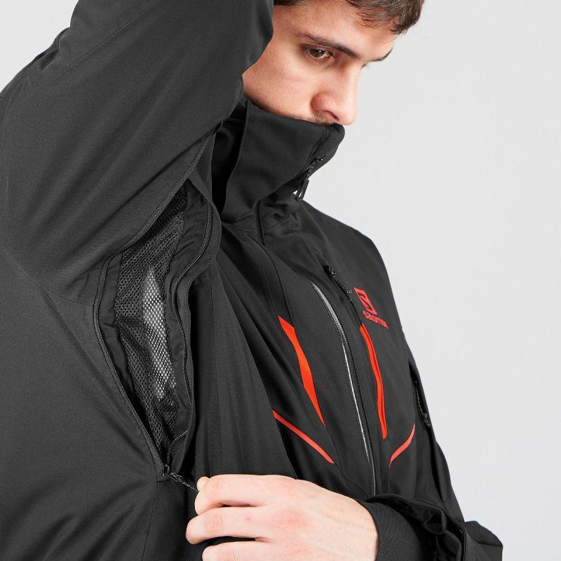 Salomon Stormrace Jacket M Skijacke Herren LccaV