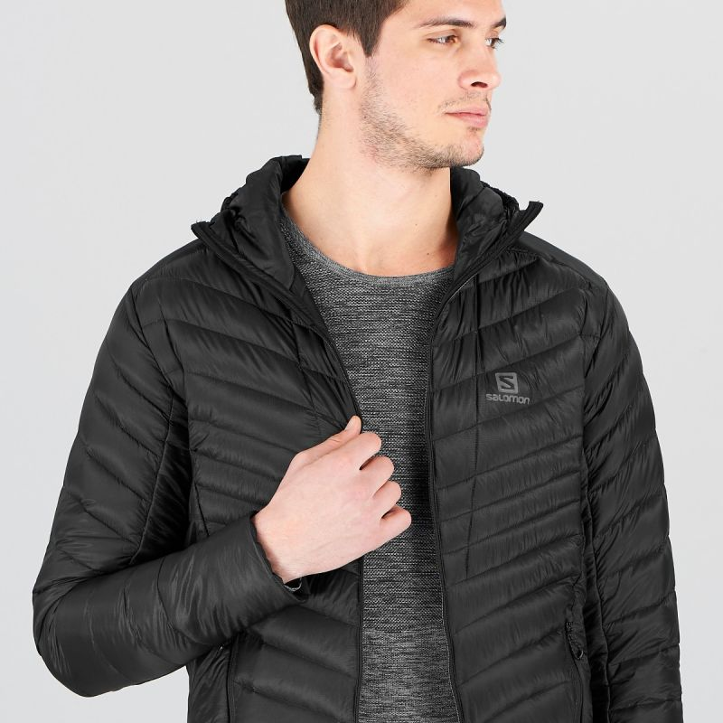 Salomon Outspeed Down Jacket Jacken Bekleidung schwarz