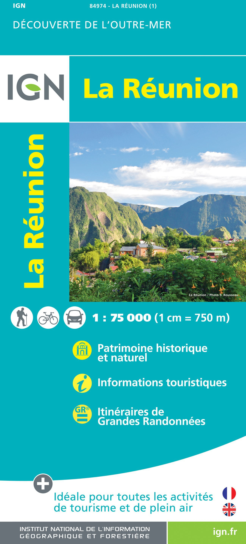 IGN La Reunion - Carte topographique