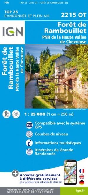 IGN Forêt de Rambouillet - Carte topographique